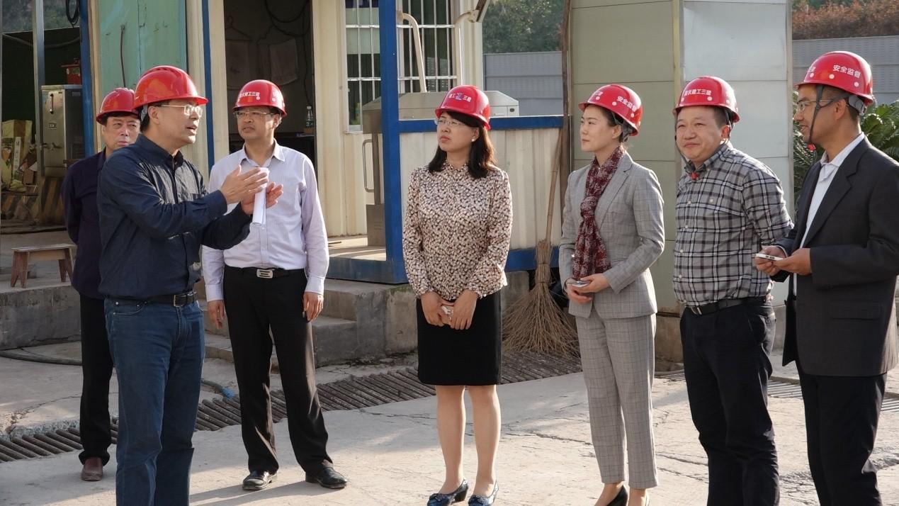 人社部规划司调研中国(重庆)职业技能公共实训中心