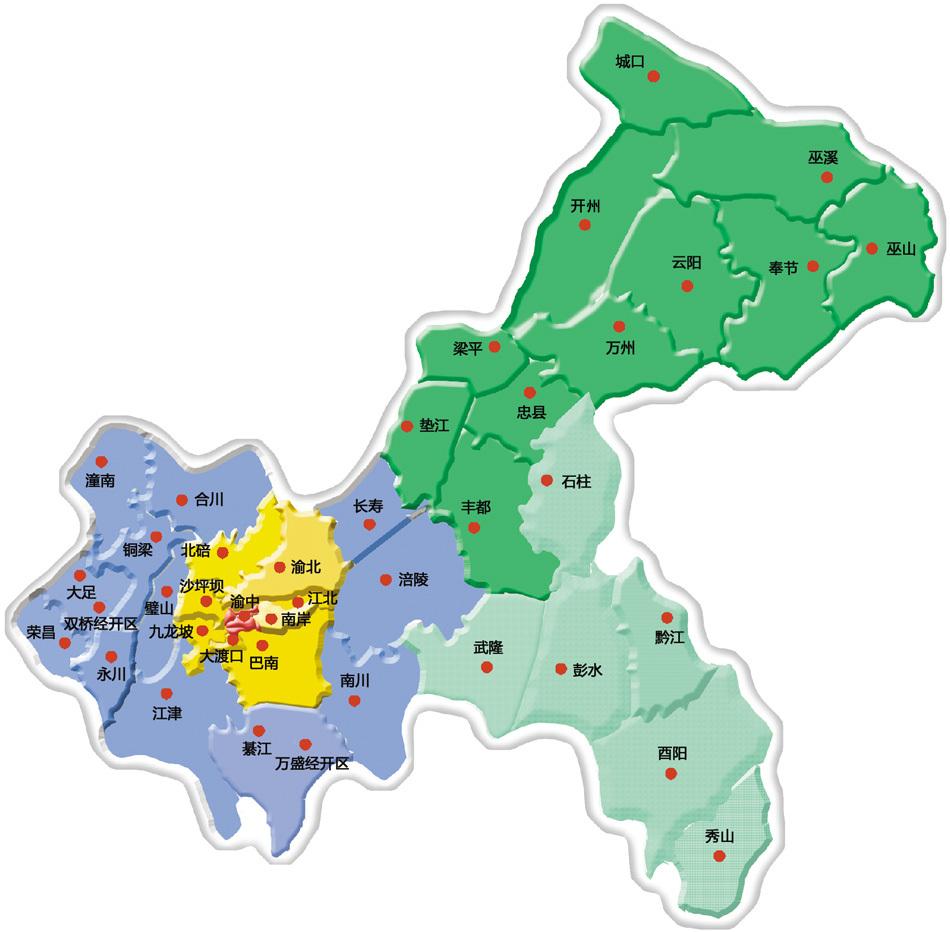 区域分布图